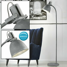 Hochwertige LED 9,6 Watt Gästezimmer Touchdimmer Stehleuchte Spot HxB 125x14 cm