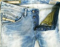 *HOT AUTHENTIC Men DIESEL @ BELTHER Art 816J Slim TAPERED DISTRESS Jeans 32 x 30