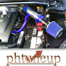 fit 2002-2006 NISSAN ALTIMA 3.5 3.5L SE/SE-R/SL AIR INTAKE KIT SYSTEMS BLUE