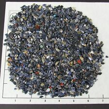 DUMORTIERITE 4-10mm tumbled 1/2 lb bulk xmini stones denim blue unsorted