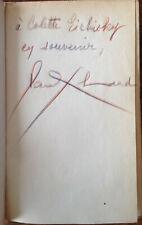 Paul Eluard - Choix de Poèmes - Exemplaire dédicacé - Gallimard 1946