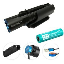 OLIGHT M2R PRO Warrior 1800 Lm Rechargeable LED Flashlight w/ Hard Shell Holster