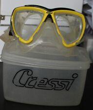 Cressi big eyes perscription scuba mask -2.0 right, -2.5 left