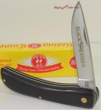 Kissing Crane Black Angus Farmer Gentleman's Folding Pocket Knife
