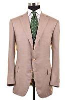 RECENT Ermenegildo Zegna Beige SILK CASHMERE UNLINED Sport Coat Jacket 56 46 R