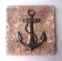 """anchor travertine tile mold abs plastic mould plaster cement 6""""x 6"""" x 1/3"""""""