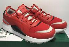 Puma Mens Sz 9.5 RS-O Sound High Risk Red Gray Violet Running Shoes 366890 03