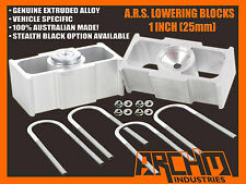 "HOLDEN HR HK HT HG 1"" INCH (25mm) LOWERING BLOCKS (ALL MODELS)"