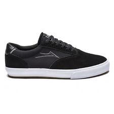 Lakai guy mariano vulk noir/blanc en daim hommes skateboard baskets US13/UK12