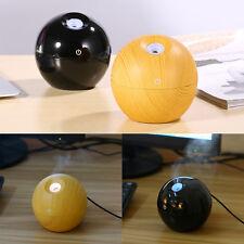 Black USB Mist Maker Aroma Essential Oil Diffuser Ultrasonic Humidifier Home