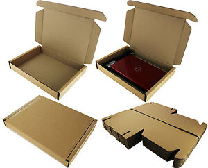 LAPTOP SHIPPING MAIL POSTAL STRONG DOUBLE WALL CARDBOARD BOX SCREEN ☆ 50x36x7cm
