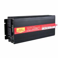Pure Sine Wave Power Inverter 3000W Max 6000W 12V-240V for Car/Caravan/Camping Boat