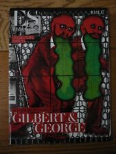 ES MAGAZINE COLLECTOR'S EDITION 50 YEARS OF GILBERT & GEORGE 10/11/17
