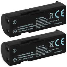 2x Batería NP-700 para Konica Minolta DiMAGE X50, X60 / Konica Minolta BC-800