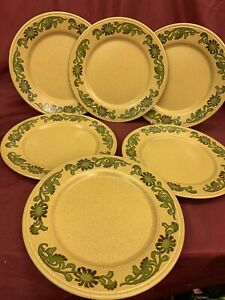 "Staffordshire Potteries Kiln Craft Tableware K3.79 'Clematis Floral' 9"" Dinner P"