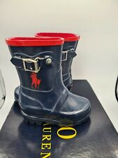 Polo Ralph Lauren Ralph Rain Boot baby - size UK 3 1/2 toddler