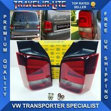 VW T5 Sportline Rear Lights Smoked 03 - 15 Set Genuine Hella OEM (Tailgate)