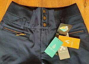Ladies Roxy Ski trousers/ salopettes 15K navy blue BNWT XL/ UK14