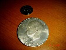 USA, 1974-S Eisenhower Silver Dollar, 400/1000 Fineness, BU
