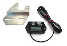 Digital Hour Meter Tachometer w/ Bracket Golf Carts ATV's Motorcycles Dirt Bikes