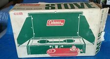 Coleman 425e499 MINT stove Dated 425e 499 Never Fired with box 05 1972