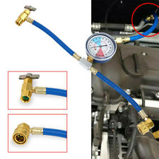 Car Air Conditioning Refrigerant Recharge Measuring Kit Hose Gas Gauge R134A Hot