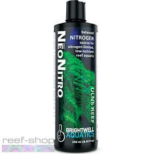 Brightwell Aquatics NeoNitro 250mL Balanced Nitrogen for Low Nutrient Reef Tanks