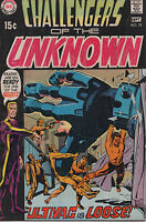 Challengers of the Unknown 75 Nov 1970 DC Silver Age Jack Kirby art 5.0 VG/FN