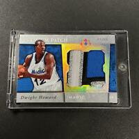DWIGHT HOWARD 2006 UD ULTIMATE COLLECTION PREMIUM PATCH 4-COLOR LOGO #'D /50