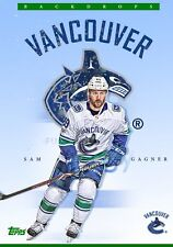 BACKDROPS SAM GAGNER Topps NHL Skate Digital Card