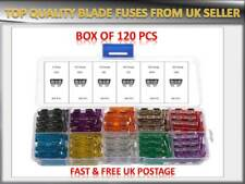 120PCS ROVER CAR AUTO MEDIUM BLADE FUSES BOX *5 10 15 20 25 30 AMP* TOP QUALITY