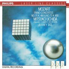 PHILIPS 432 049-2  * MOZART Piano Concertos No. 20 & No. 23  CD