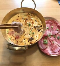 Hot Pot, Suppe, Topf aus Messing