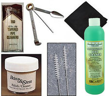 Tobacco Smoking Pipe Cleaning Kit w/ Pipe Cleaners, Tool, Shank Brushes - 2508