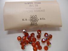 full package,36 swarovski crystal beads,10mm madeira topaz AB #39(5300)