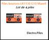 Lot de 4 Piles bouton LR1130 G10 de marque MAXELL, livraison rapide et gratuite