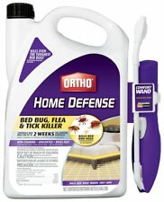 Bed Bug Spray Flea Tick Killer Home Defense Max Ortho Kills Non-Staining