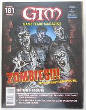 GTM Game Trade Magazine Issue No # 181 March New and Sealed (M495)