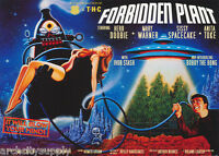 LOT OF 2 POSTERS :FANTASY: COMICAL:  FORBIDDEN PLANET - FREE SHIP  #PP0235 LW2 K