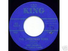 JAMES BROWN - King 6064 - The Christmas Song - SOUL 45