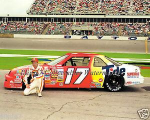 DARRELL WALTRIP 1990 CHEVROLET DAYTONA 500 # 17 NASCAR AUTO RACING 8X10 PHOTO