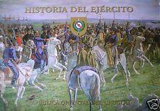 HISTORIA DEL EJERCITO DE URUGUAY-ARMY UNIFORMS-BADGE-  BOOK  WEAPONS ETC