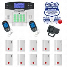 Wireless Burglar Alarm System Phone Line Auto Dialer US Home House Smart PSTN FZ