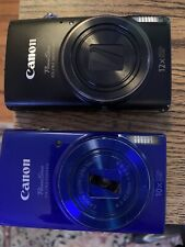 Canon PowerShot ELPH 360HS and 190IS