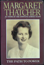 "Margaret Thatcher Signed ""The Path To Power"" Book (PSA/DNA)"