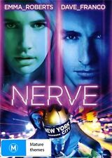 Nerve - DVD Movie - Emma Roberts Dave Franco Emily Meade - Thriller - NEW