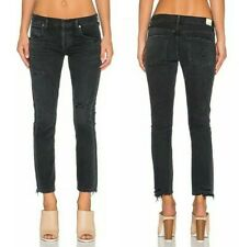 Citizens of Humanity Premium Vintage Emerson Boyfriend Jeans in Black Hawk 28 29