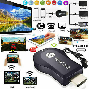1080P Smart Media Player TV Stick Google Dongle Chrome Cast Mac USB Anycast