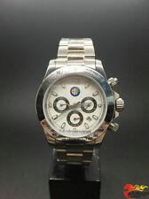 Montres à quartz Automatique Mécanique Hommes Bracelet pr Alfa Romeo 147 blanc