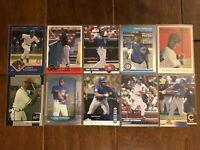 Corey Patterson - Chicago Cubs - 10 Baseball Card Lot - No Duplicates